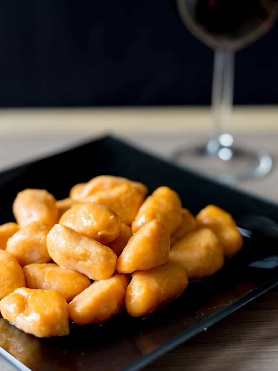 Sweet potato gnocchi with brown butter
