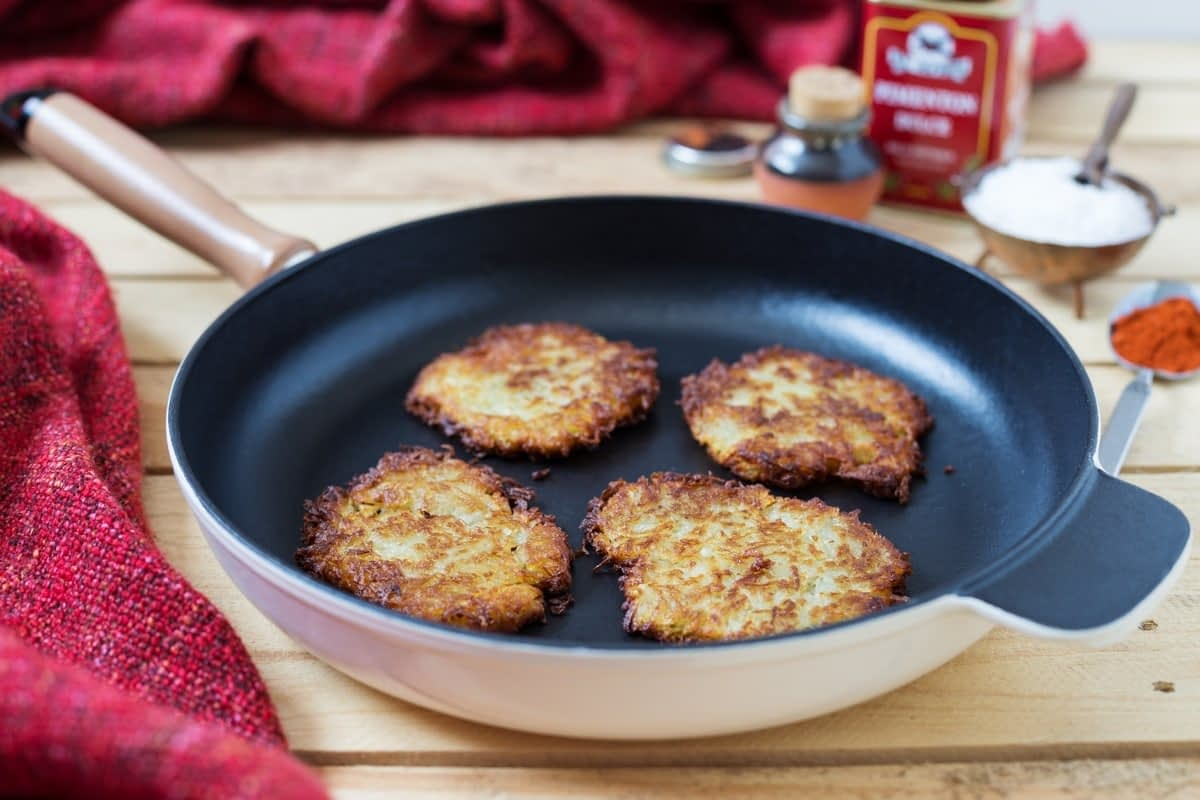 rösti swiss potato pancake