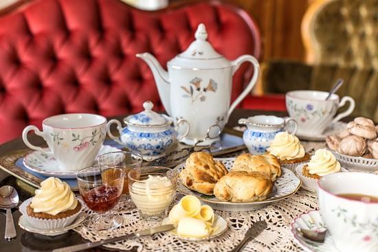 Afternoon tea at Murboannas Borlänge