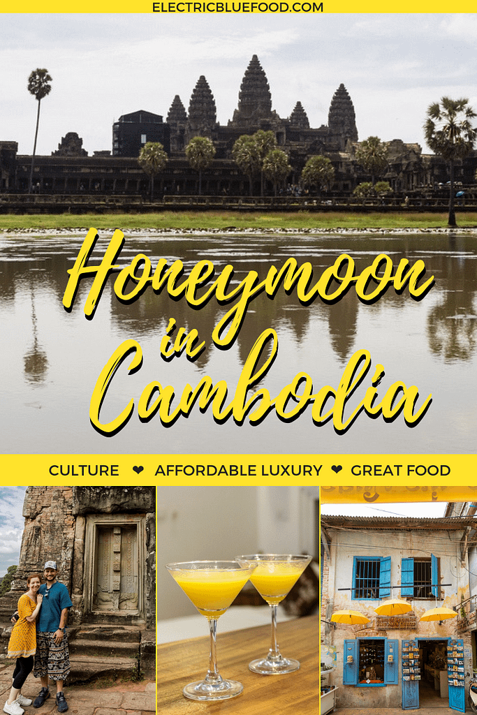 Honeymoon in Cambodia. A great destination for affordable luxury, culture and great food.