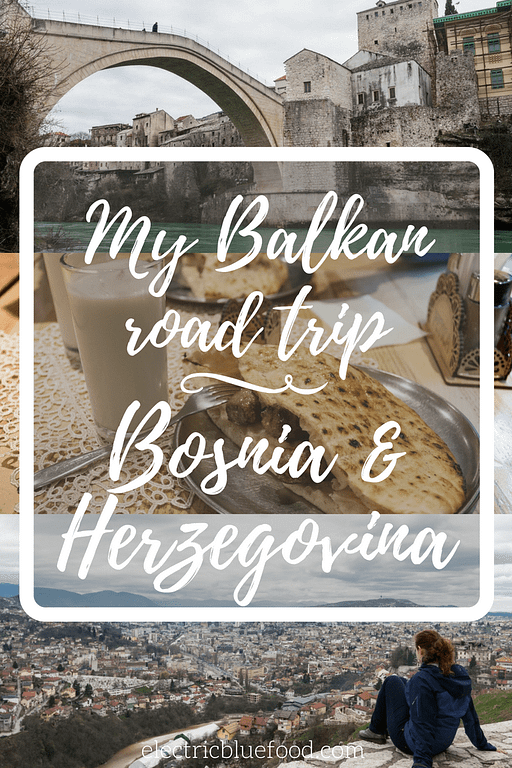 My Balkan road trip took me through the two main cities of Bosnia and Herzegovina: Sarajevo and Mostar. This post is an overview of my exploration of the two cities and the traditional food I found there.