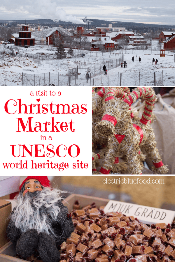A visit to the Swedish Christams market in Falun. It is located at the Falun Copper Mine, a UNESCO world heritage site.