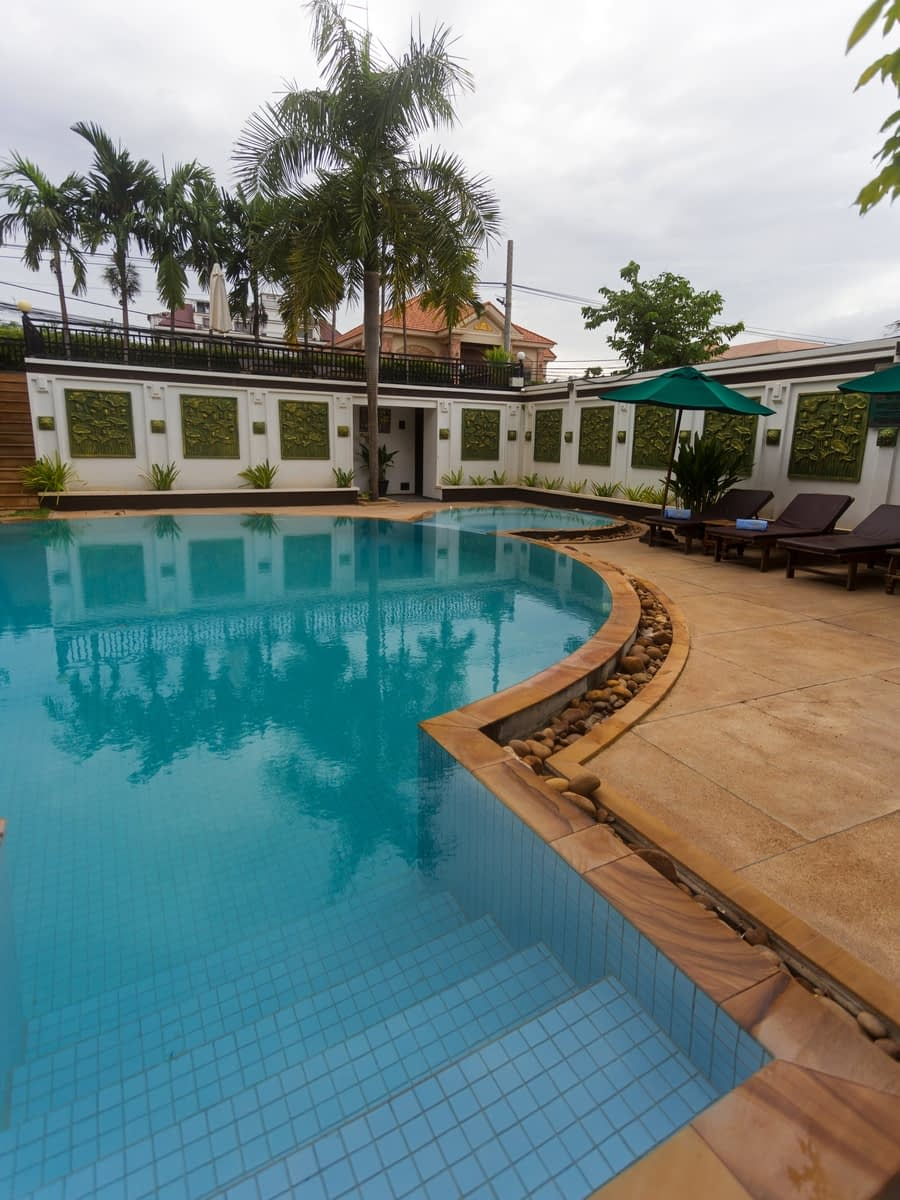 Les Bambous Luxury Hotel Siem Reap - our honeymoon in Cambodia