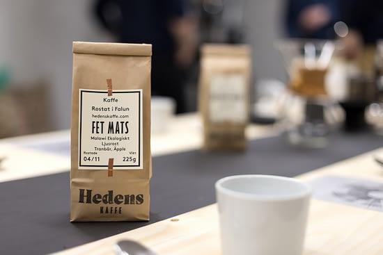 Coffee culture in Sweden: Hedens Kaffe in Falun